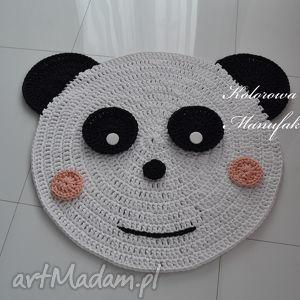 prezent na święta, dywan miś panda - 80cm, panda, miś, dywan, dziecko, chodnik, mata