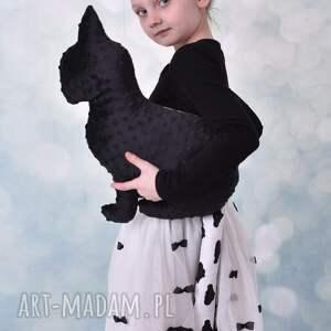 Przytulanka dziecięca kotek z ogonem, kot-hand-made, maskotka-kot, przytulanka-kot
