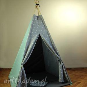teepee gwiazdy a - namiot do domu lub ogrodu - namiot, domek, wigwam, prezent, dziecko