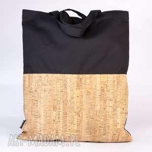 na zakupy siatka z korkiem, siatka, torba, korek torebki, pod choinkę prezent