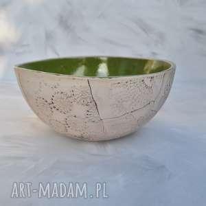 ręcznie robione ceramika misa patchwork