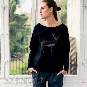 Prezent DEER PATTERN Oversize Bluza, oversize