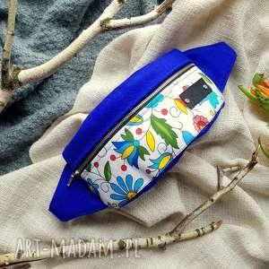 ręcznie robione nerki kolorowa nerka w kwiaty folkowa łowicz