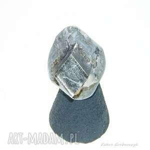 pierścionek z blachy tytan-ocynk rozmiar