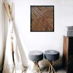 obraz z drewna, dekoracja ścienna /69- chimera/, obraz, drewniany
