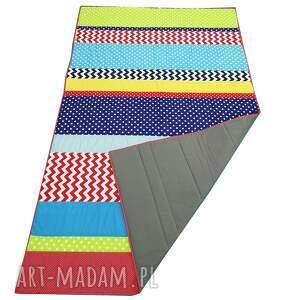 narzuta patchwork stripes - kolor 135x215cm, patchwork
