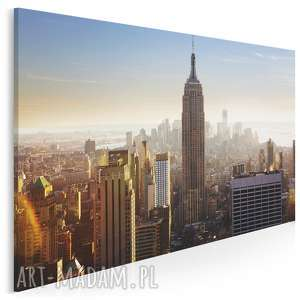 fotoobraz na płótnie - nowy jork 120x80 cm 900501, jork, miasto, usa