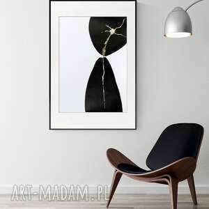 obraz ręcznie malowany 50 x 70 cm, nowoczesna abstrakcja, 2714404