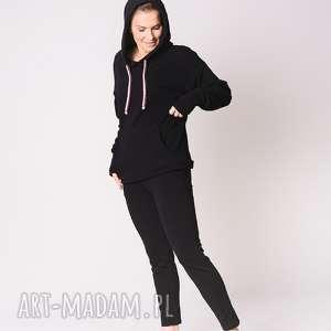 Spodnie klasyczne czarne trzyforu dress, moda, styl, 3foru