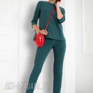 Komplet bluzka spodnie, bluzka, komplet, eleganckie, dopracy, zestaw