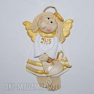 handmade dla dziecka komunia św. Agatki - aniolek