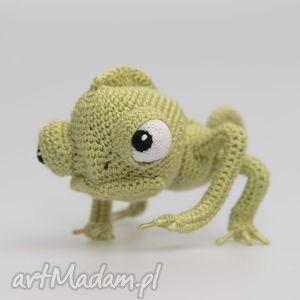 ręcznie wykonane zabawki zabawka kolekcjonerska - kameleon