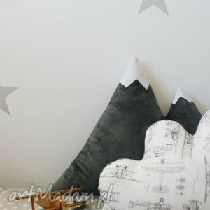 Poduszka góra scandi pokoik dziecka hop siup poduszka, góra