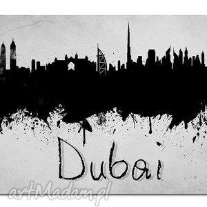 obraz duży miasto dubaj 3 -120x70cm na płótnie, obraz, miasto