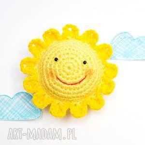 poduszeczka na igły słoneczko, poduszka, igły, szydełko, słońce, słoneczko