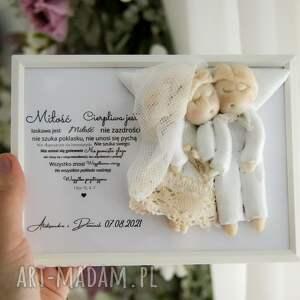 ślub anioły na oryginalny prezent ślubny, anioł ślub