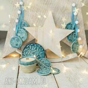 ceramika box prezentowy - zapach świąt z ceramiką, ceramika, dekoracje