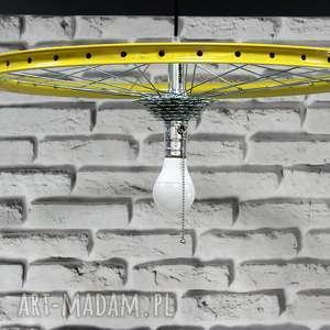 unikalny prezent, lampa jack lemon, rowerowa, okrągła, nowoczesna, lofotwa, prezent