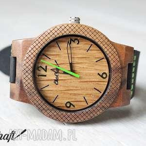 ręcznie robione zegarki drewniany zegarek oak eagle