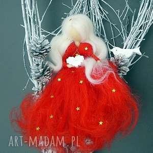 świąteczny wianek gwiazdkowa wróżka z kolekcji weihnachten