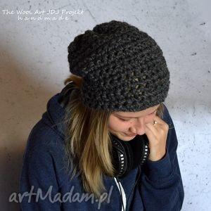 handmade czapki gruba czapka