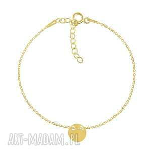 celebrate - circle 2 - bracelet g - ,kółko,łańcuszek,