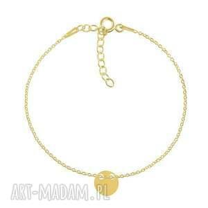 lavoga celebrate - circle 2 bracelet g, kółko, łańcuszek biżuteria