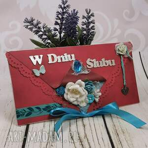 ręczne wykonanie scrapbooking kartki kartka z okazji ślubu (k50)