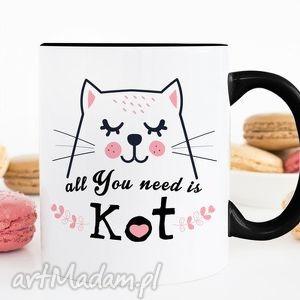 święta prezent, kubek all you need is kot, kociaki, kubek, idealny, kawa