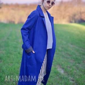 handmade płaszcze płaszcz z lisem