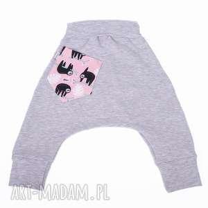 spodnie leniwiec r 74-116 - spodnie, leniwiec