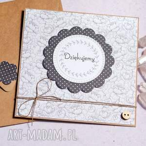 kartki dziękujemy kartka handmade podziękowanie, dziękuję