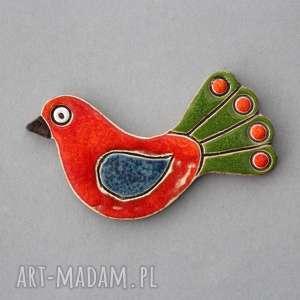prezent na święta, ptak - magnes, ceramika, lodówka, kolekcjoner, prezent, kolor