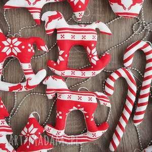 Pomysły na prezenty święta. Dekoracje świąteczne zestaw 21 sztuk