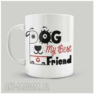 Prezent Kubek Dog My Best Friend, personalizacja, dog, przyjaciel, friend, prezent,