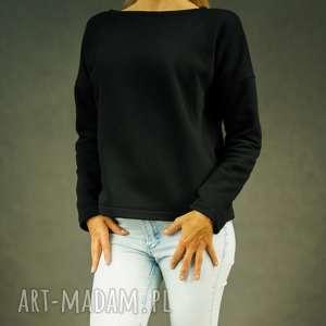 Bluza dresowa czarna black elle bluzy lil yo odziez damska