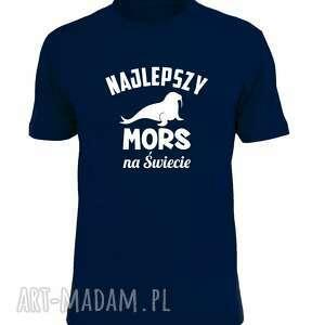 handmade koszulki koszulka z nadrukiem dla morsa, prezent najlepszy mors, morsowanie