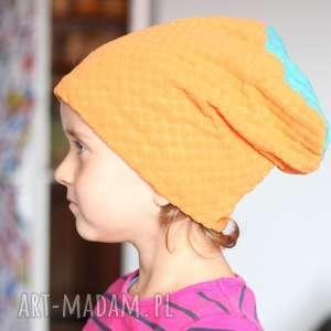 czapka mamo chce taka sama A1, czapka, mama, bawełna, dziecko, jseien, dzianina