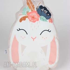 poduszka - przytulanka krÓlik - poduszka, przytulanka, prezent, dziecko, królik