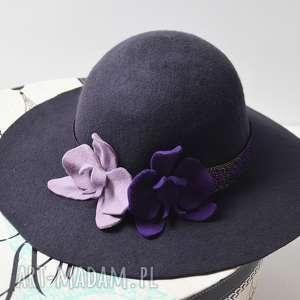 hand-made ozdoby do włosów hiszpański kapelusz
