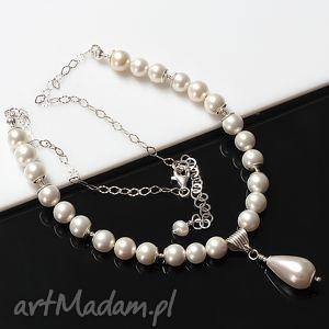 ręcznie wykonane naszyjniki perły seashell