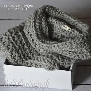 ręcznie robione swetry szary sweter zamówienie. Justyna
