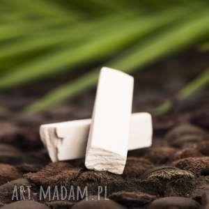 porcelanowe kolczyki