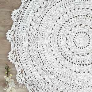 Dywan mandala lace cudarenki dywan, okrągły, mandala, lace,