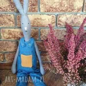 hand-made zabawki królik igor