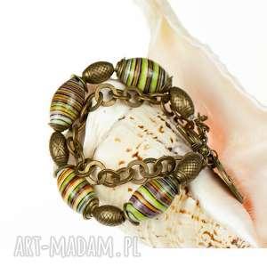c371 codzienna bransoletka z porcelanowymi koralami, bransoletka, porcelana