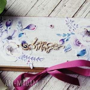 Prezent Kartka okolicznościowa na Ślub, ślub, para, młoda, koperta, prezent