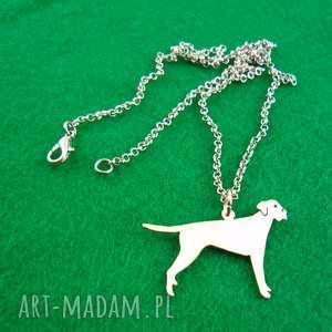naszyjnik wyżeł pies nr 71, naszyjnik, pies, rasy-psów, rękodzieło, wyżeł, prezent
