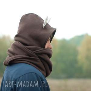 Komin z kapturem - jelonek kominy joanka jeleń, deer, rogi