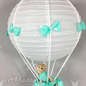 Lampa LaMaDo Latający Miś Polski Handmade, lampa, latający, miś, balon, handmade